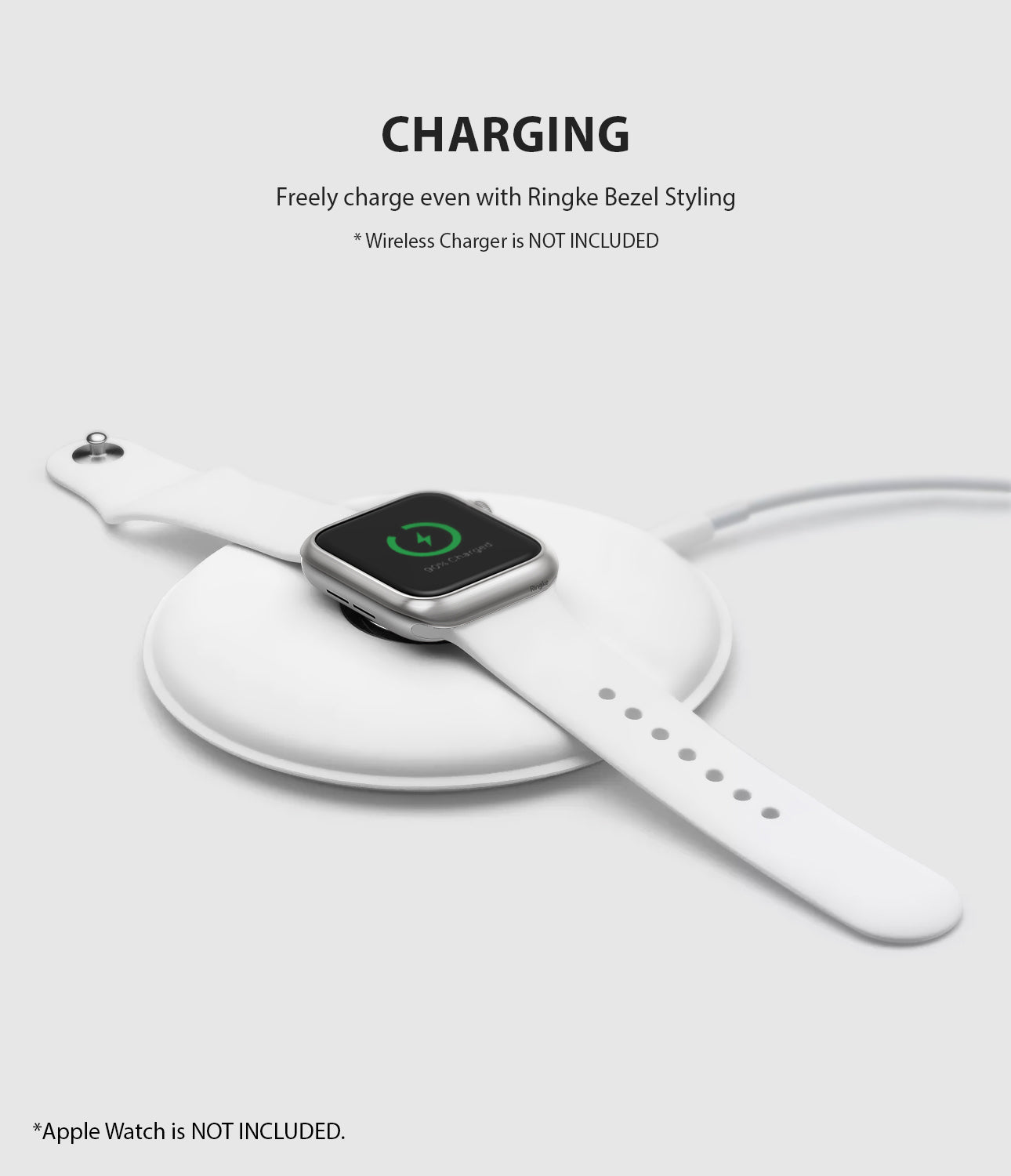 apple watch 3 2 1 38mm case ringke bezel styling stainless steel frame cover 38-09 wireless charging