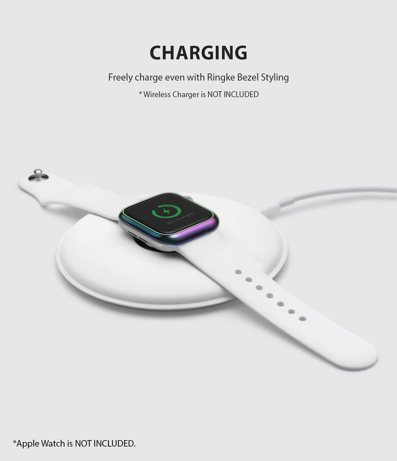 apple watch 3 2 1 38mm case ringke bezel styling stainless steel frame cover 38-08 wireless charging