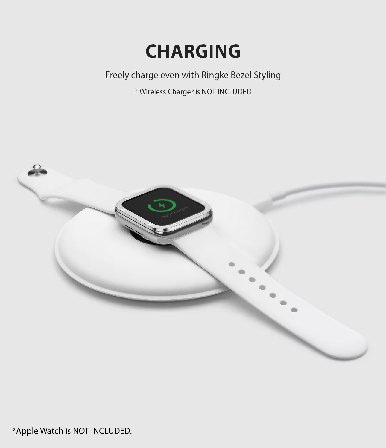 apple watch 3 2 1 38mm case ringke bezel styling stainless steel frame cover 38-40 wireless charging compatible