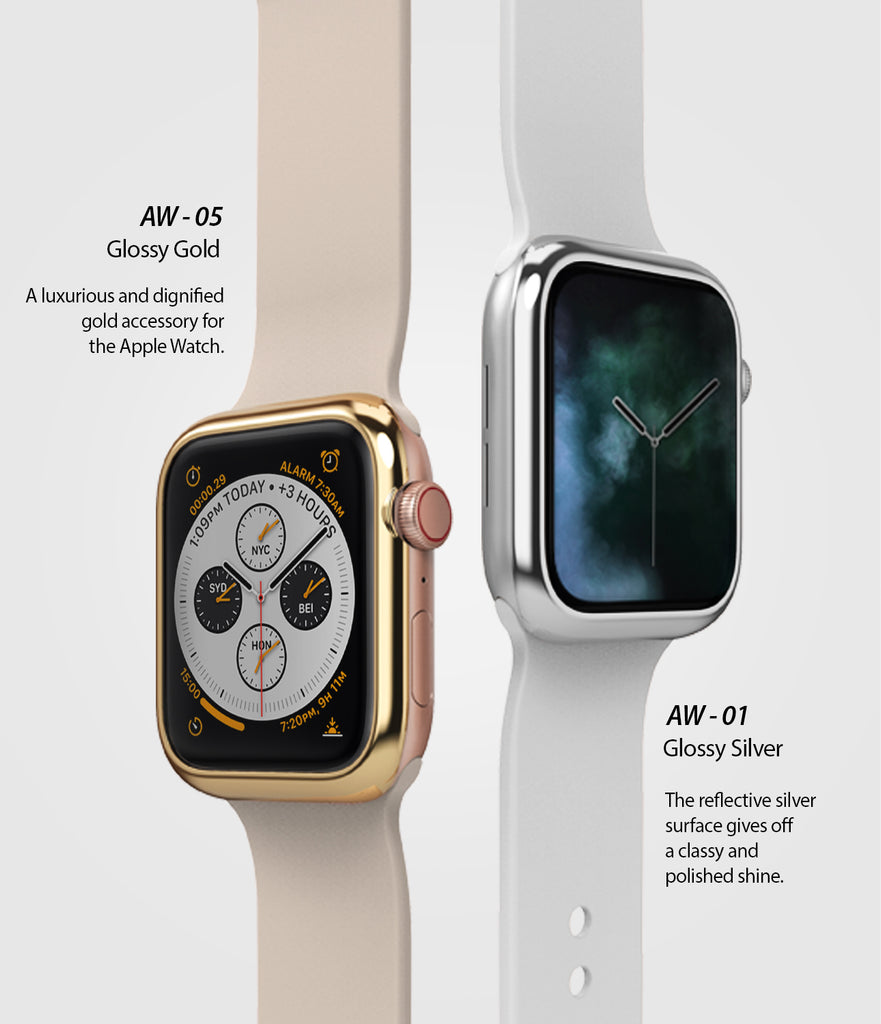 apple watch 3 2 1 42mm case ringke bezel styling stainless steel frame cover 42-01