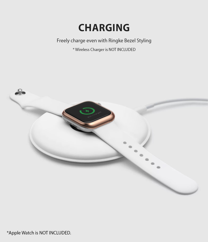 apple watch 3 2 1 42mm case ringke bezel styling stainless steel frame cover 42-02 wireless charging