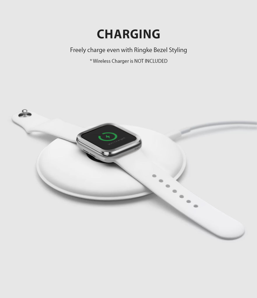 apple watch 3 2 1 42mm case ringke bezel styling stainless steel frame cover 42-42 wireless charging compatible