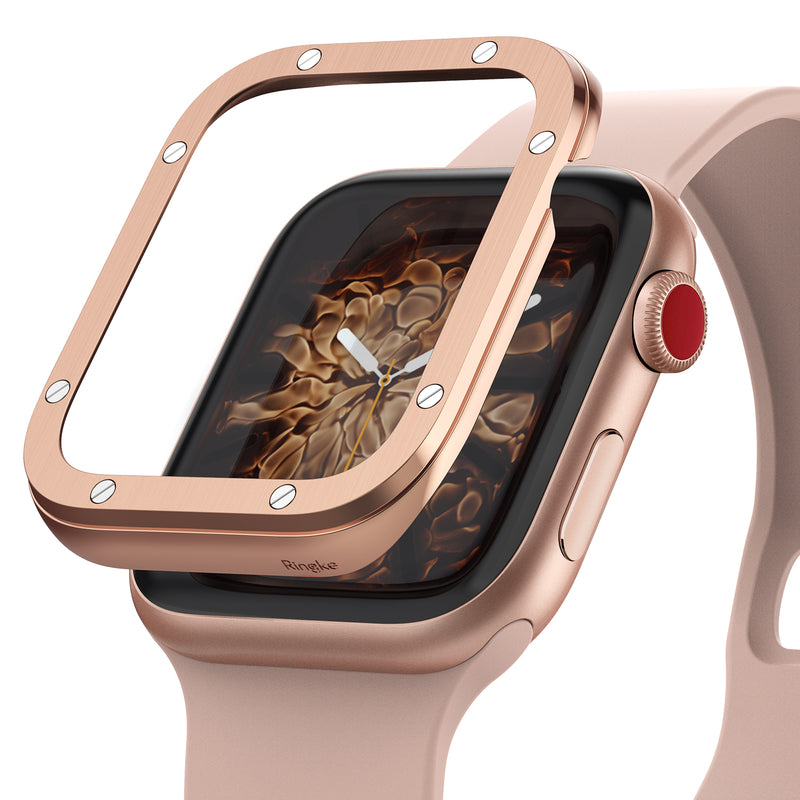 ringke bezel styling compatible with apple watch 38mm (aw3-38-41)