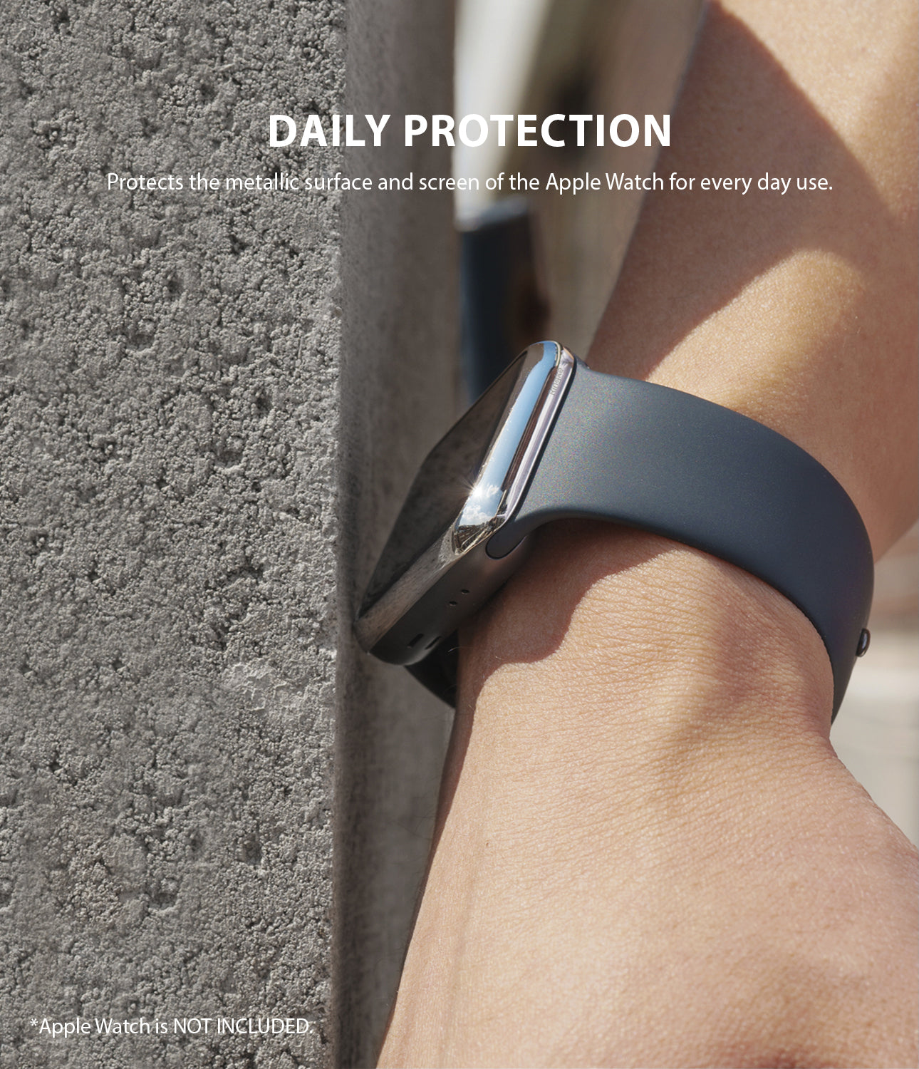 protects the metallic surface and screen of the apple watch for every day use