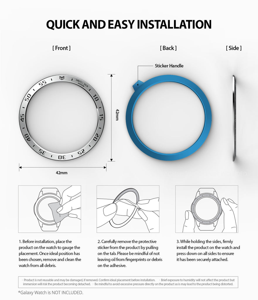 quick and easy installation guide with strong 3m adhesives