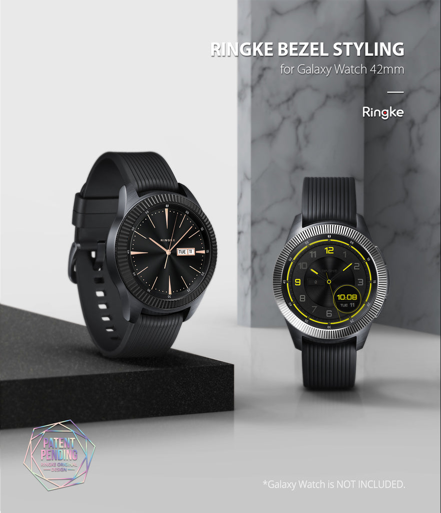 full frame scratch proof bezel cover for galaxy watch 42mm