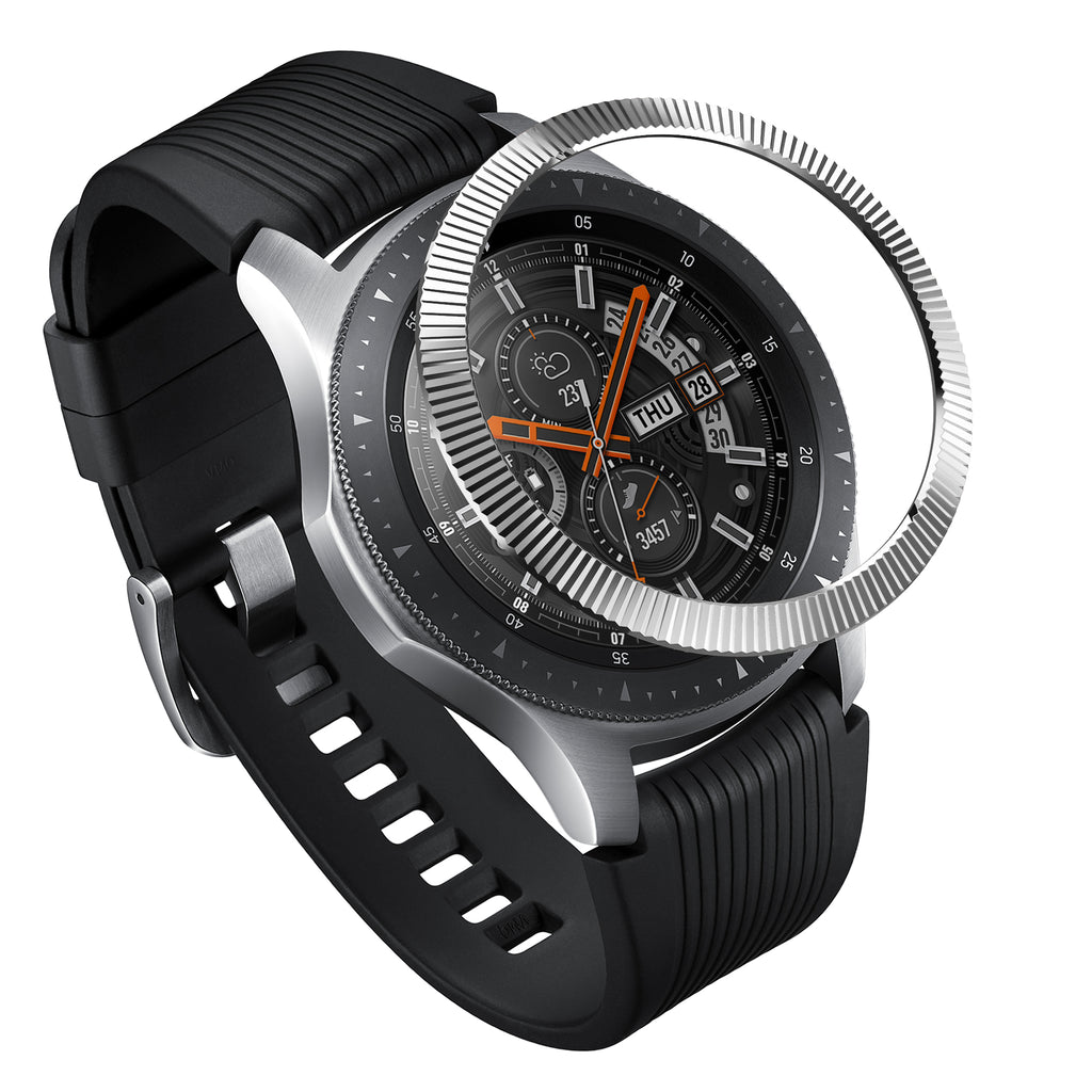 ringke bezel styling for galaxy watch 46mm, gear s3 frontier and classic