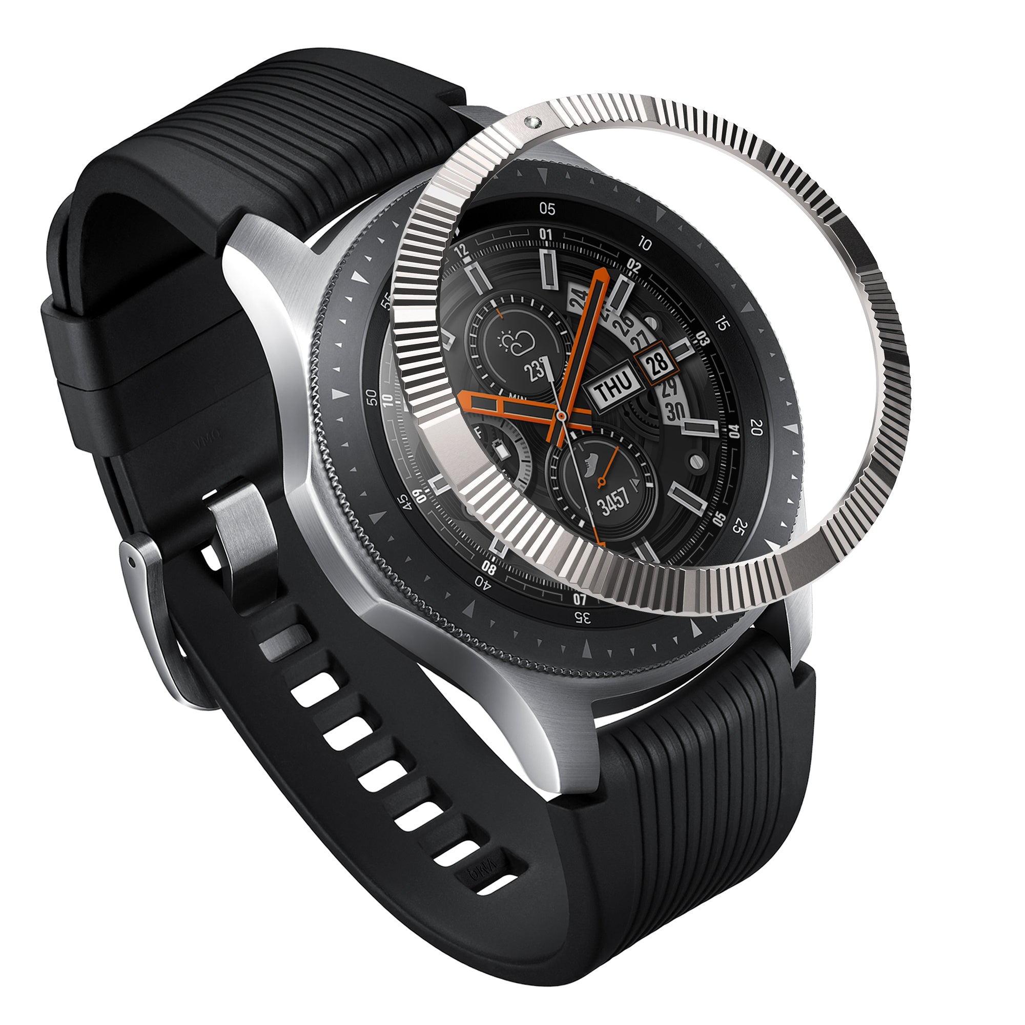 ringke bezel styling for samsung galaxy watch 46mm, gear s3 frontier and classic superior edition