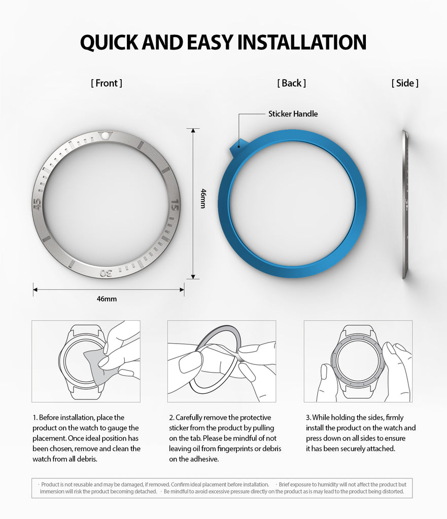 quick and easy installation guide for bezel styling