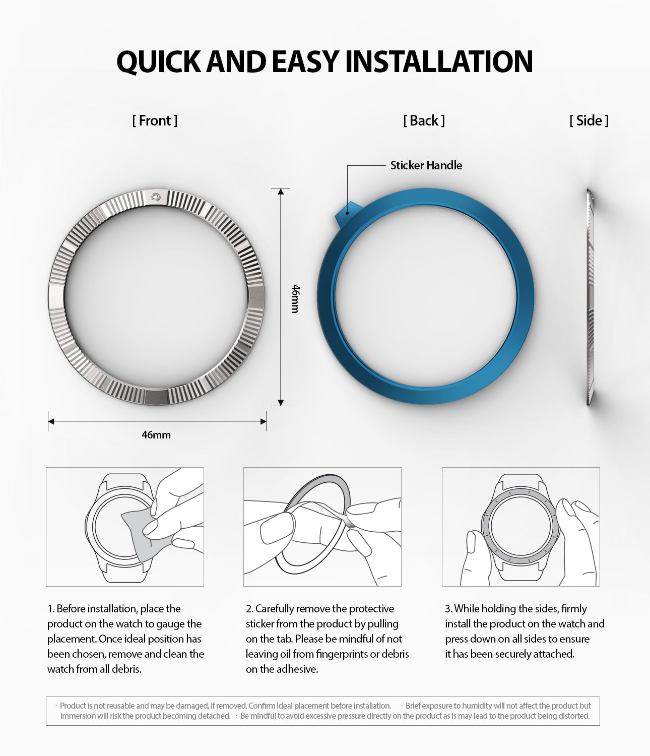 quick and easy installation guide of galaxy watch 46mm