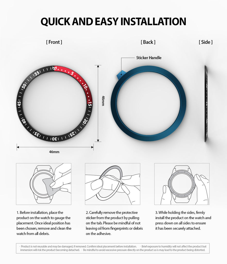 quick and easy installation guide of ringke bezel styling