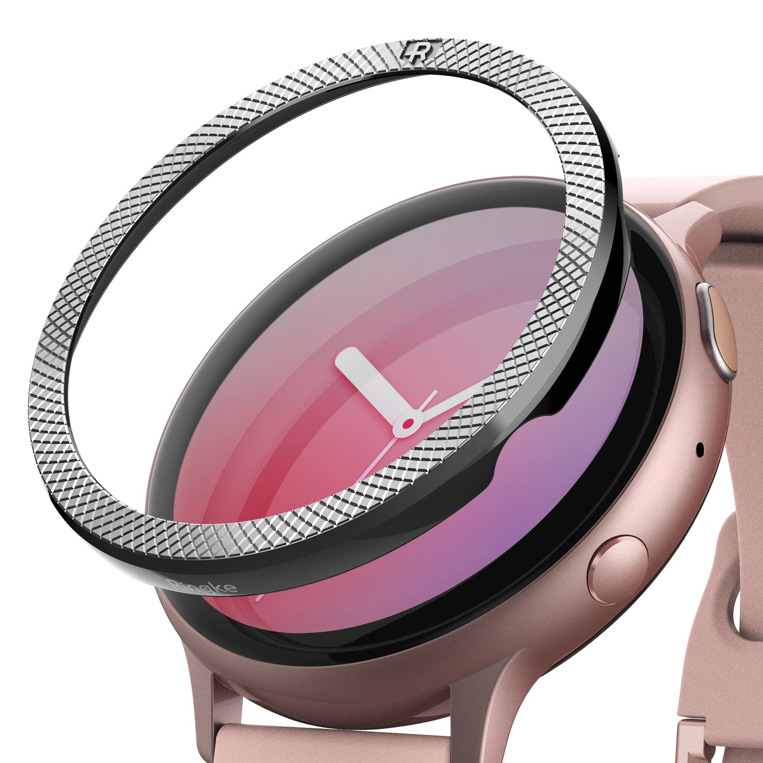 ringke bezel styling for galaxy watch active 2 44mm stainless steel