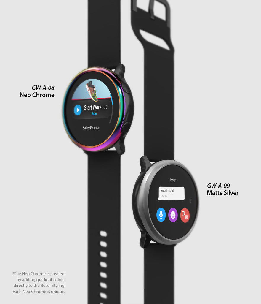 ringke bezel styling for galaxy watch active available in various color options