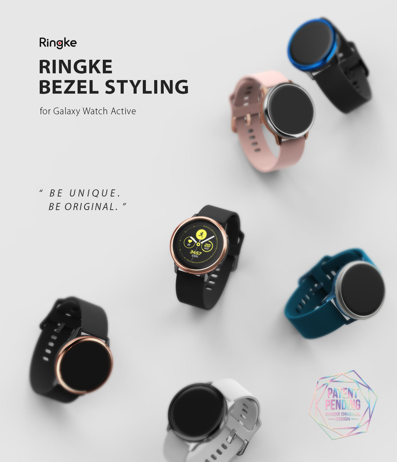 ringke bezel styling for galaxy watch active