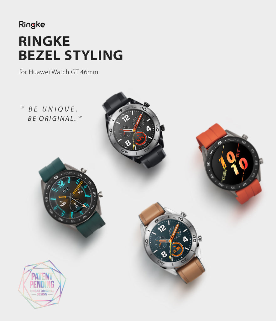 Ringke Bezel Styling for Huawei Watch GT 46mm 46-03 Black