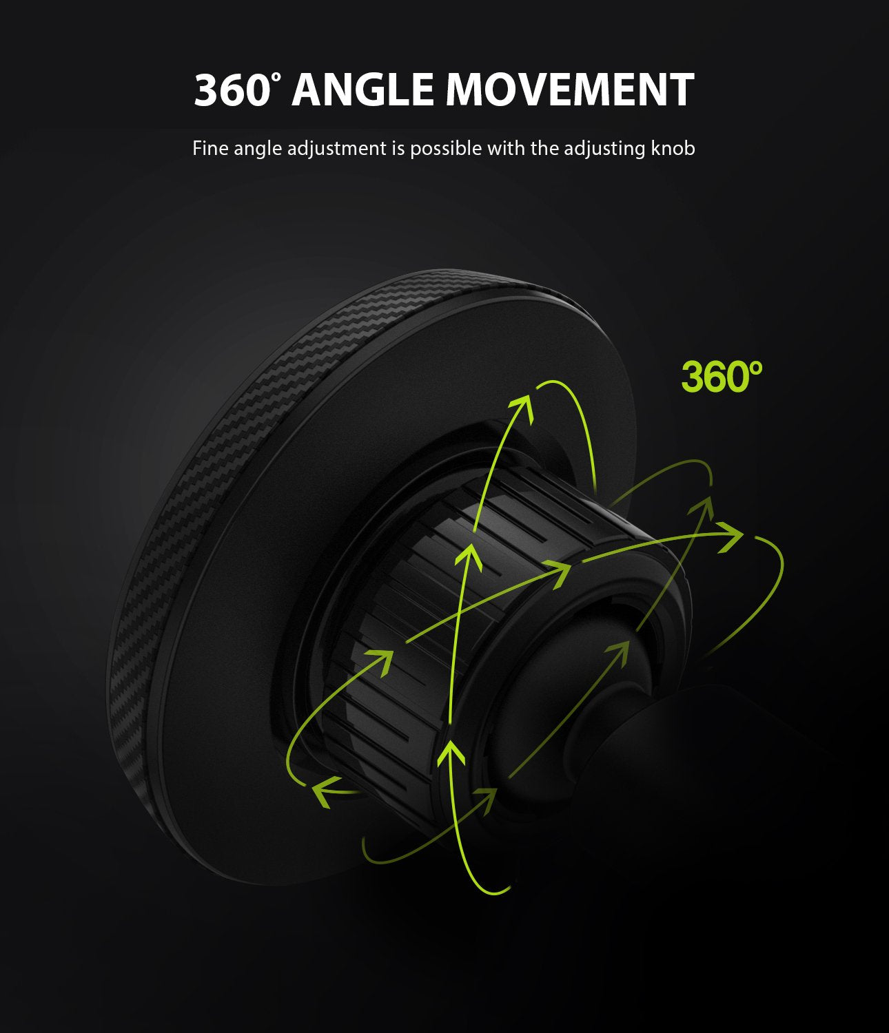 ringke cd slot 2 in 1 car mount  360 degrees movement