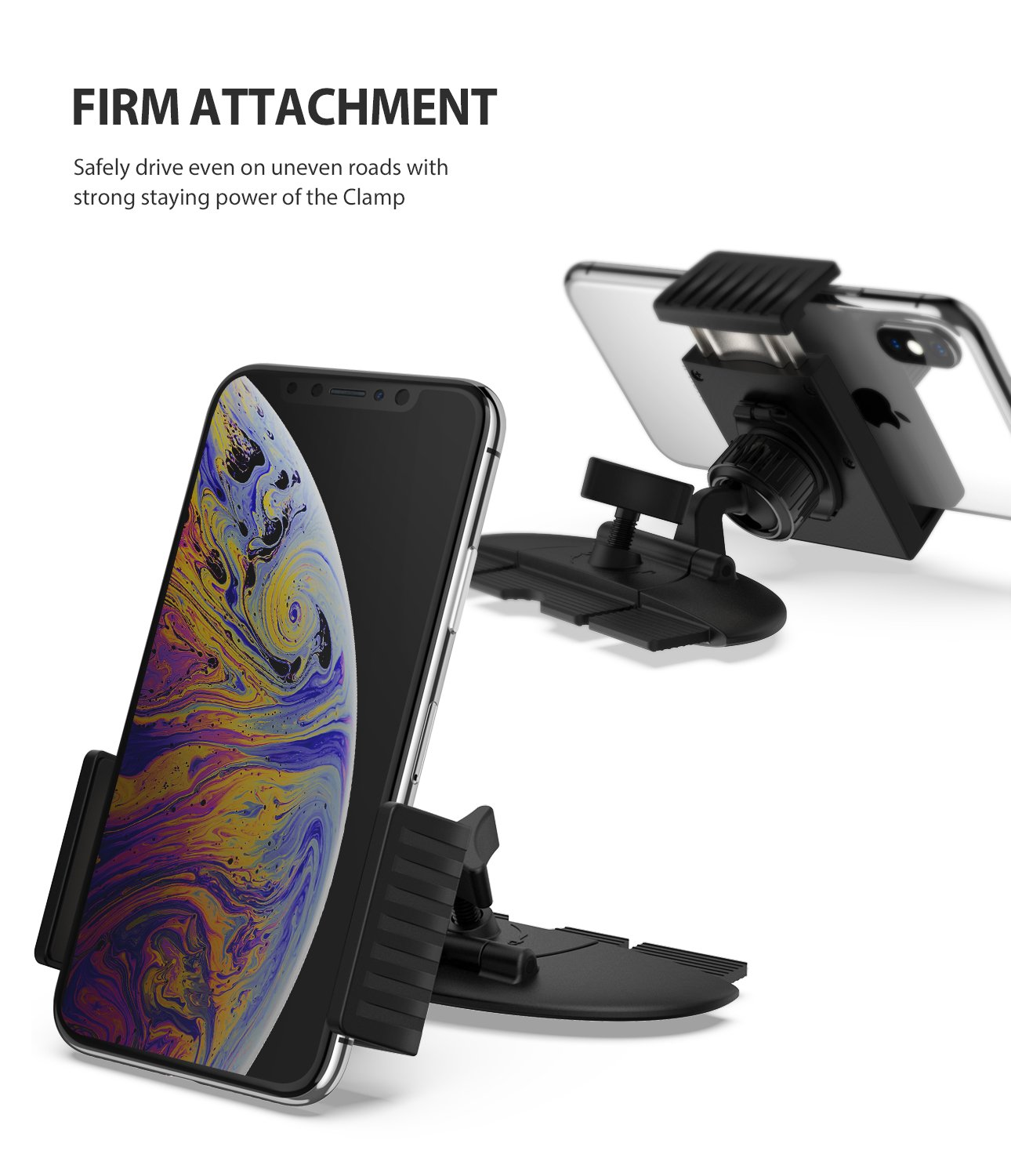 ringke cd slot 2 in 1 car mount firm attachment