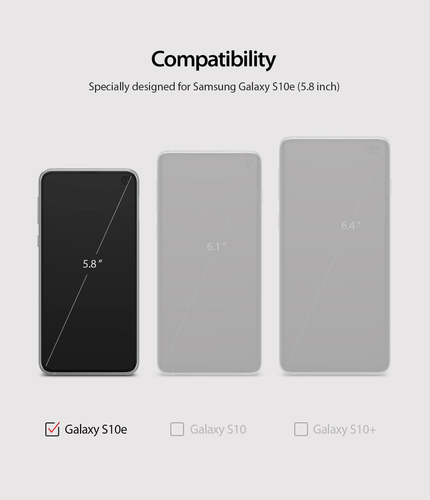 only compatible with galaxy s10e