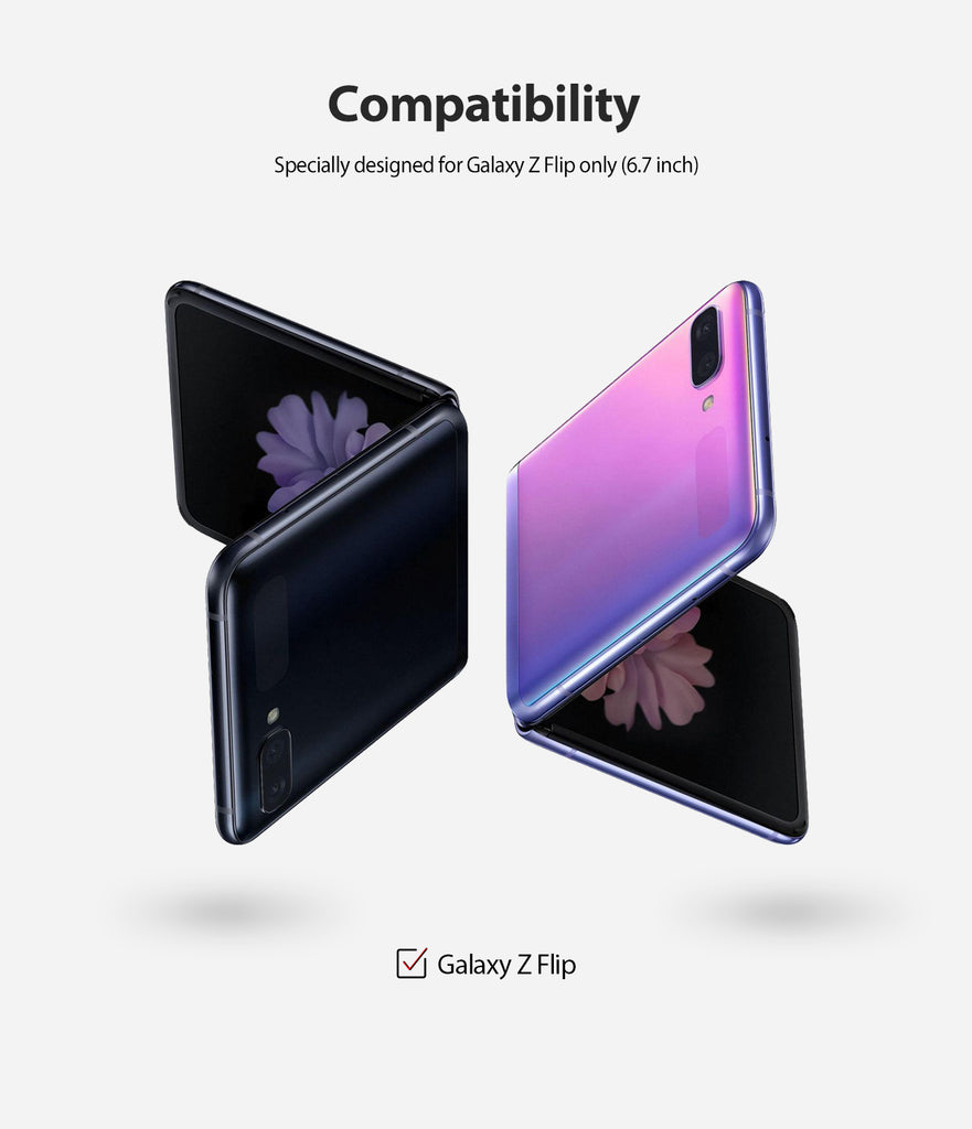 only compatible with galaxy z flip
