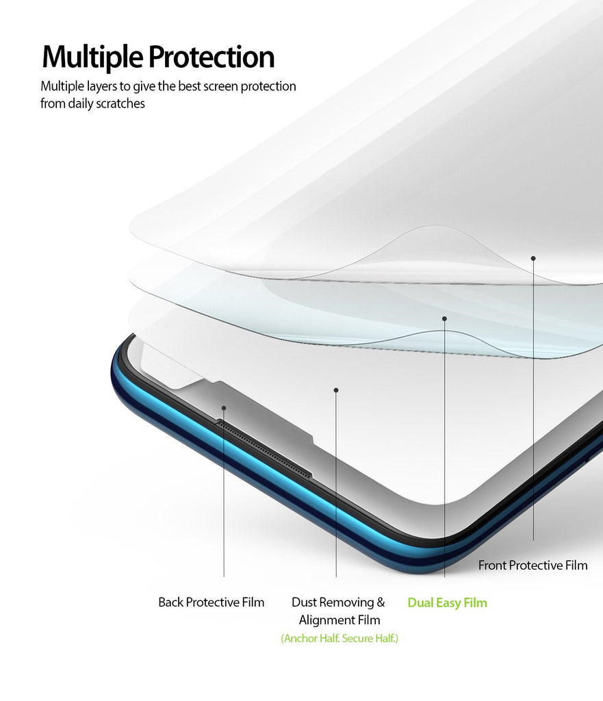 multiple protection to give best screen protection from daily scratches