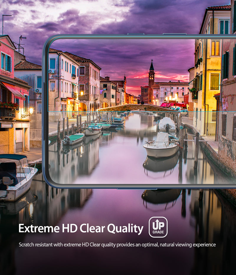 OnePlus 7 Pro / 7T Pro [Dual Easy Film] Screen Protector [2 Pack]