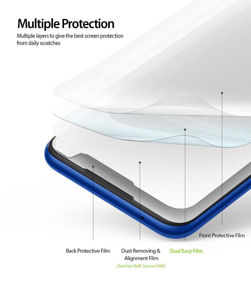 multiple layers to give the best screen protection from daily scratches