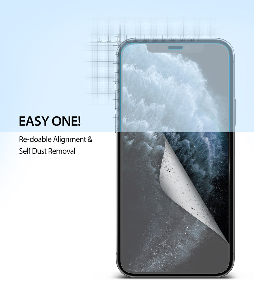 iPhone 11 Pro Screen Protector Dual Easy Film 2 Pack Easy Installation Easy One