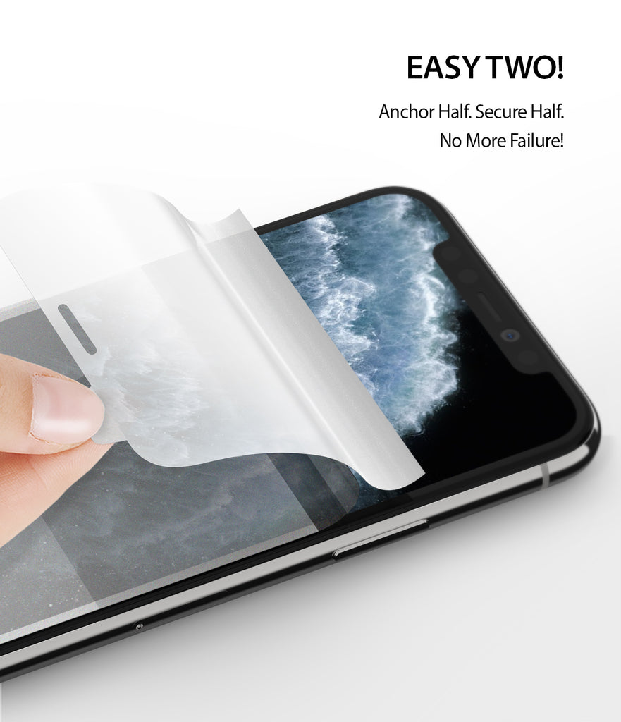 iPhone 11 Pro Screen Protector Dual Easy Film 2 Pack Easy Installation Easy Two