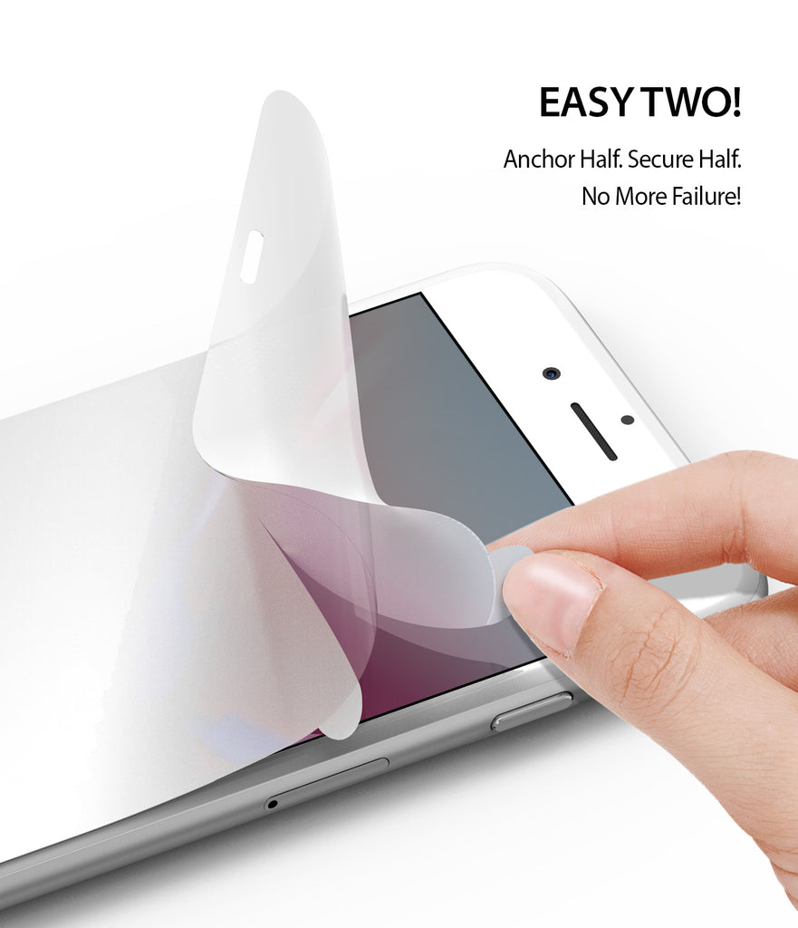 ringke dual easy film screen protector for iphone 7 8 main easy application