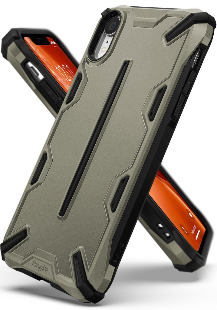 ringke dual-x for iphone xr case cover main sand