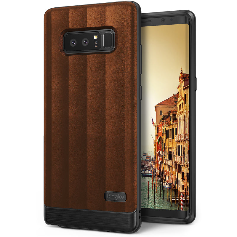 samsung galaxy note 8 ringke flex s case brown