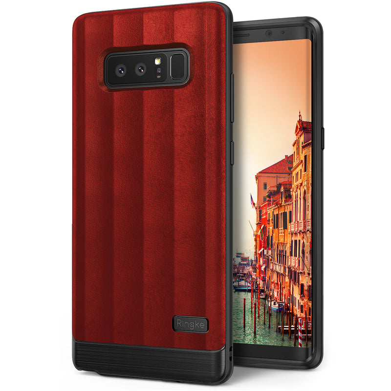 samsung galaxy note 8 ringke flex s case red