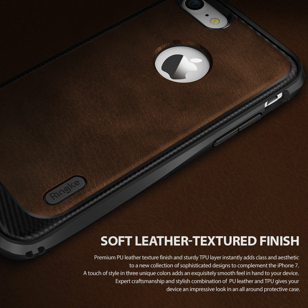 ringke flex s leather case for iphone 7 8 cover main premium look design