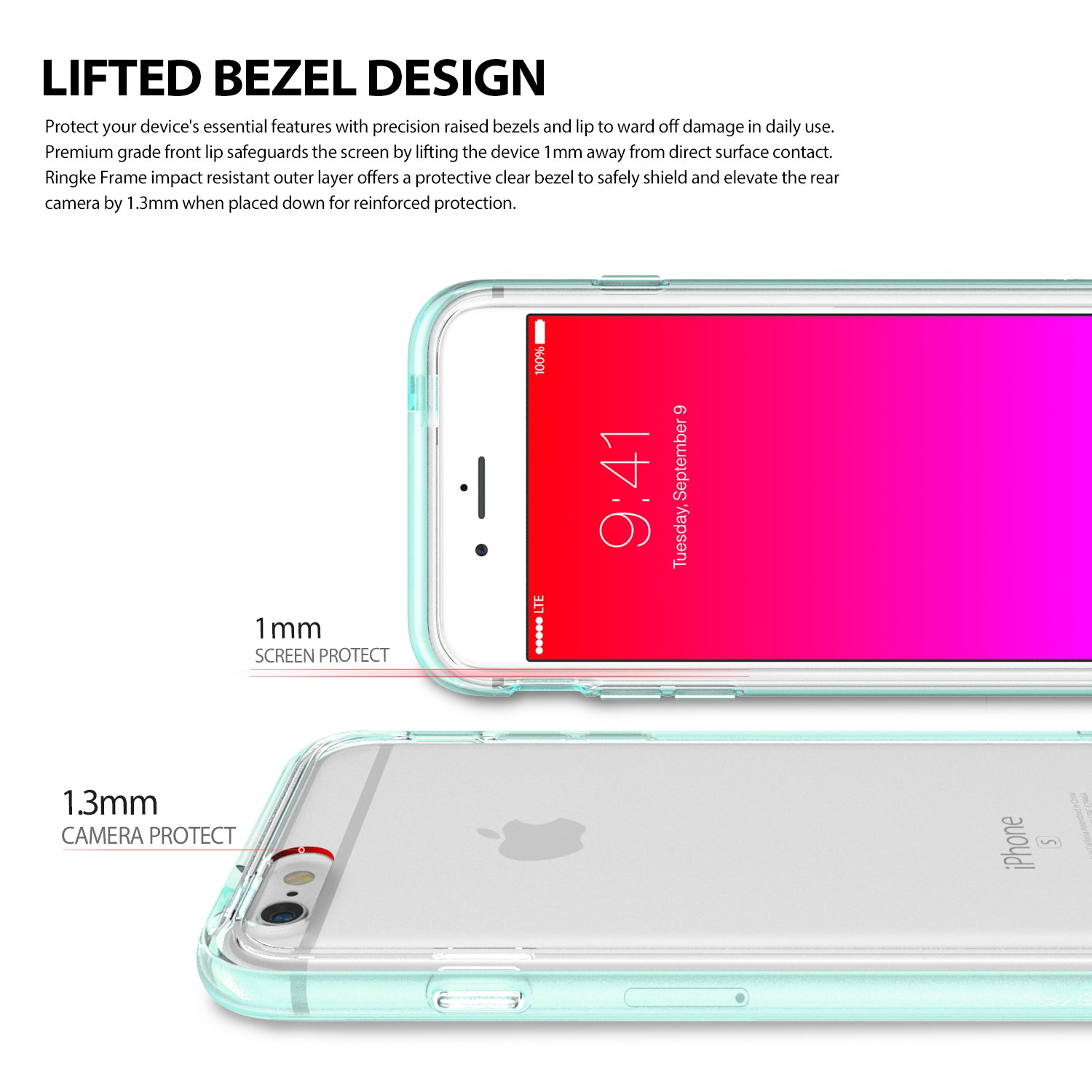 ringke frame bezel side protection case cover for iphone 6 6s main ultimate thin