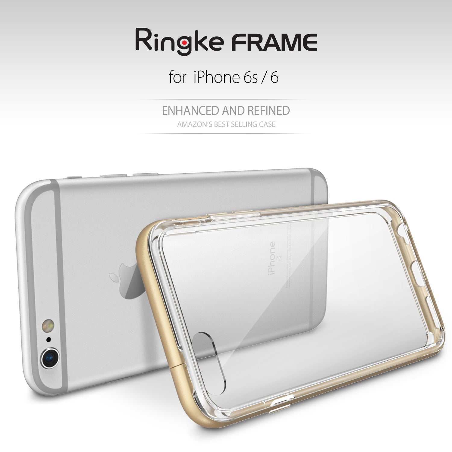 ringke frame bezel side protection case cover for iphone 6 6s main