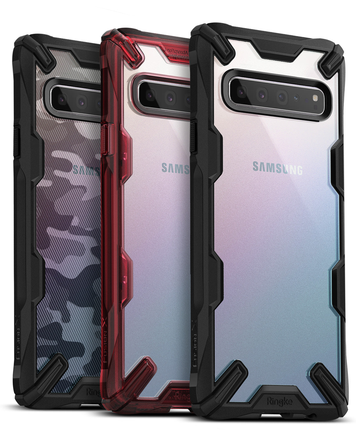 ringke fusion-x for samsung galaxy s10 5g - black