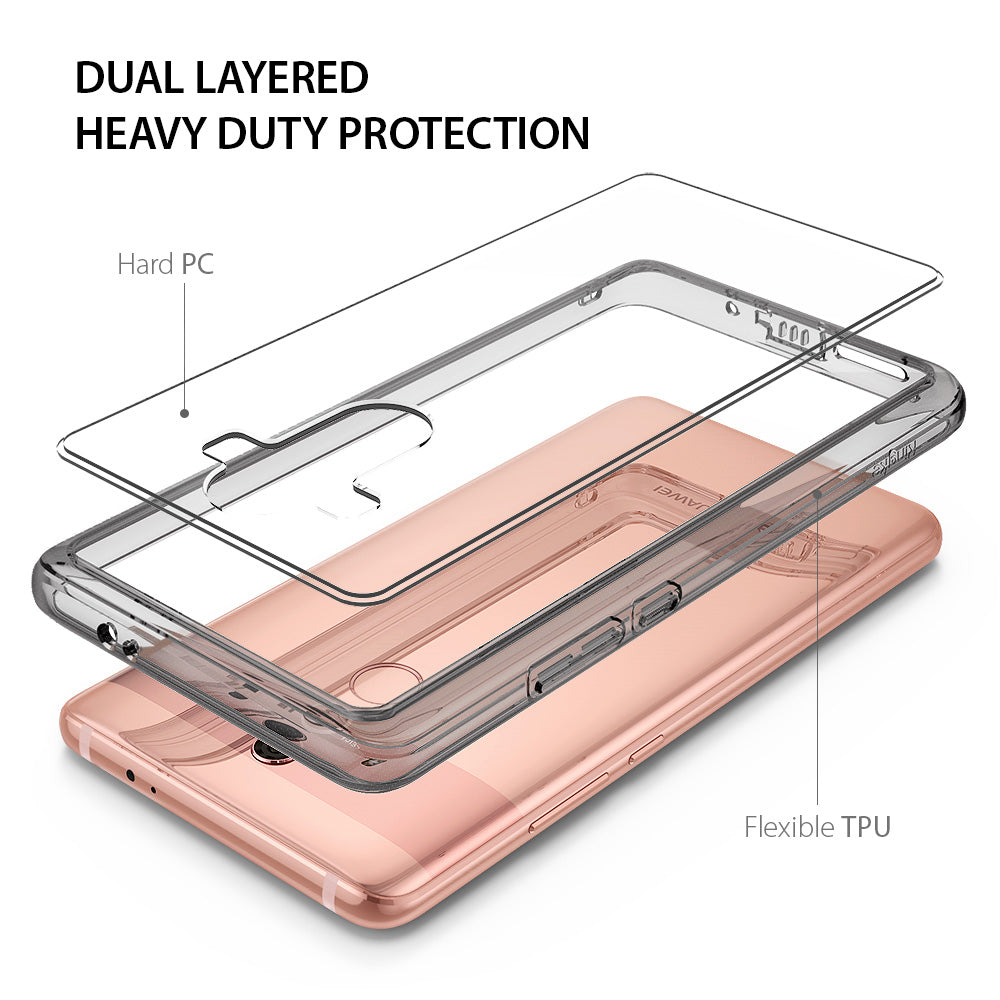 dual layered heavy duty protection with hard pc & flexible tpu