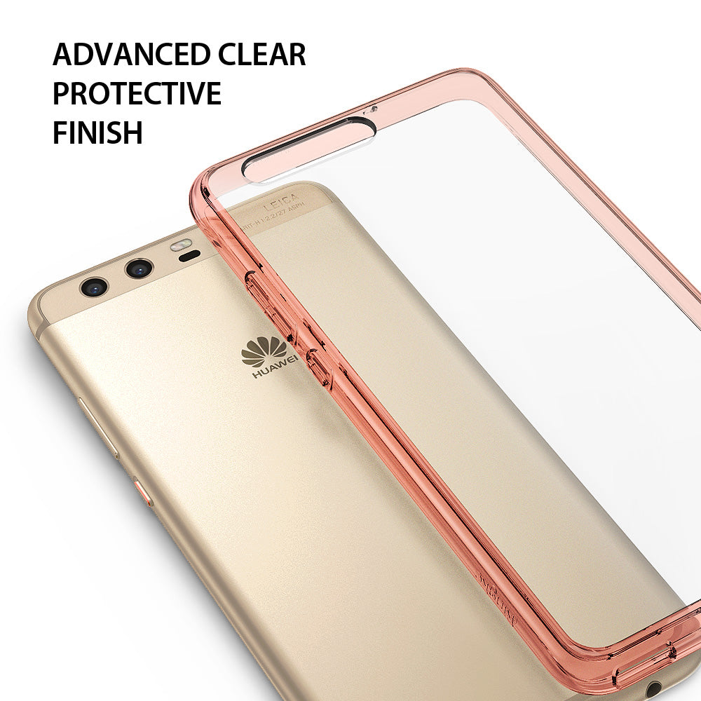 Huawei P10 Case, Ringke®[FUSION] Crystal Clear PC Back TPU Bumper Case