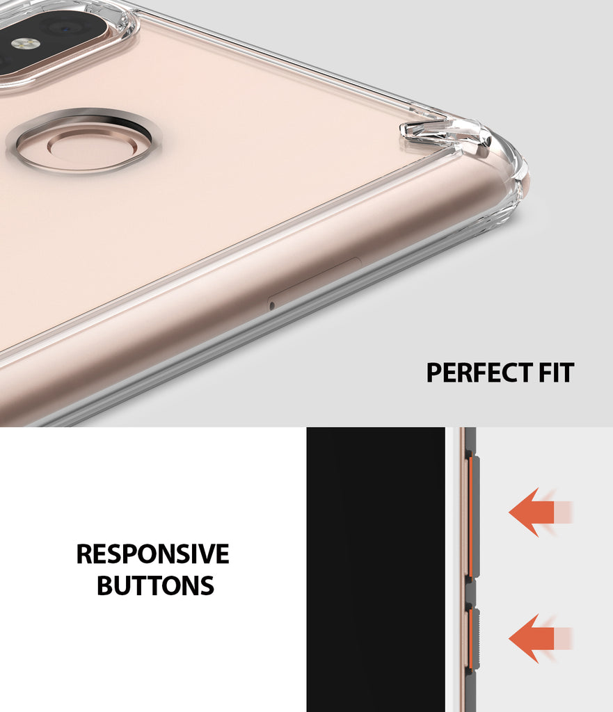 perfect fit and responsive buttons