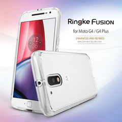 Moto G4 / Moto G4 2016 Case, Ringke® [FUSION] Crystal Clear PC Back TPU Bumper Case