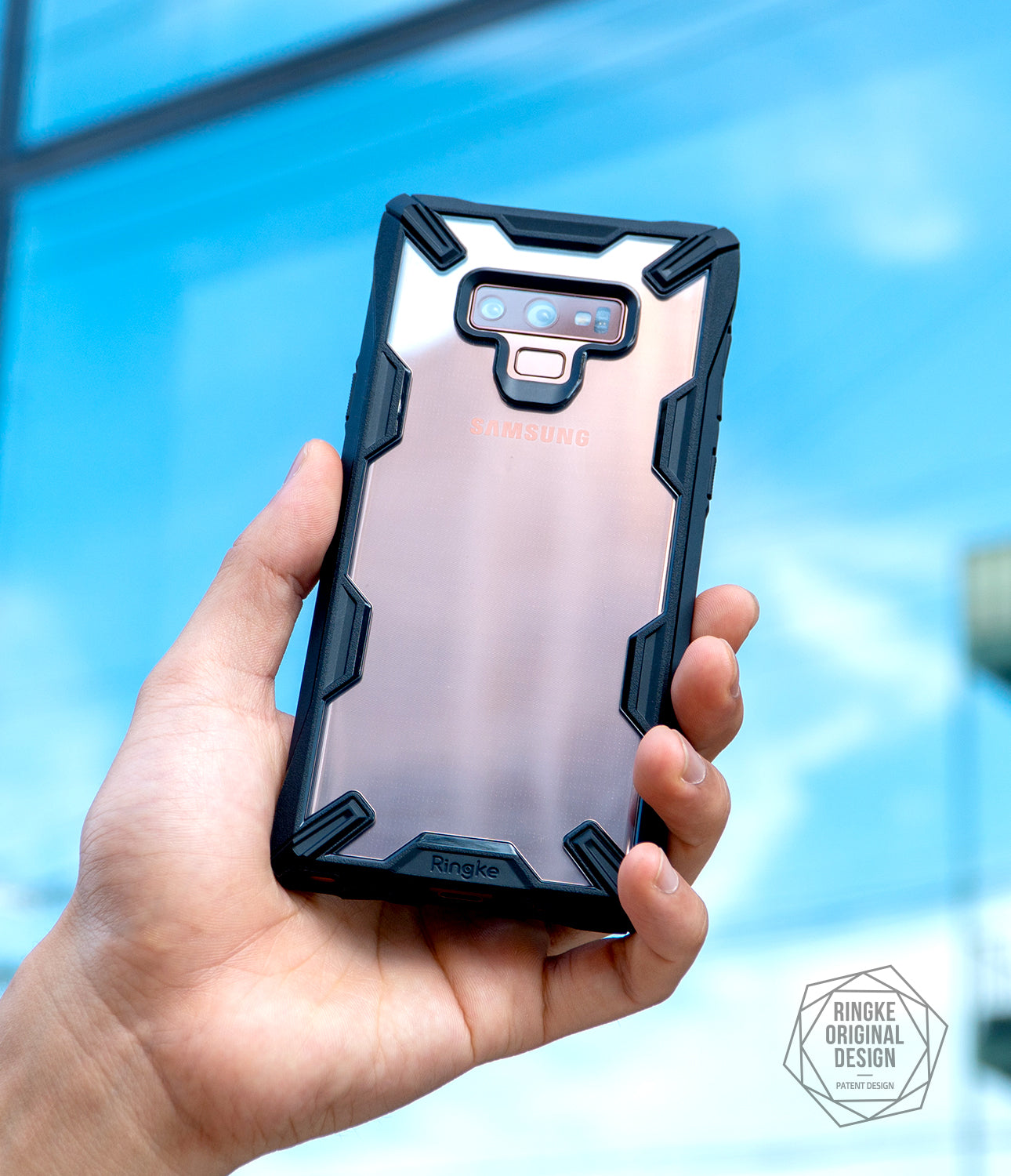 ringke fusion-x case designed for samsung galaxy note 9 black