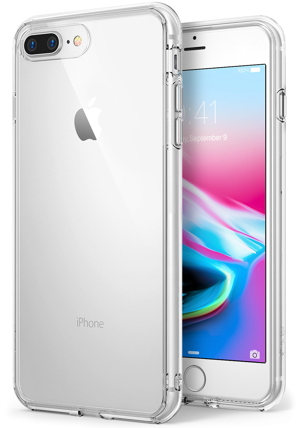 ringke fusion clear transparent case cover for iphone 7 plus 8 plus main clear