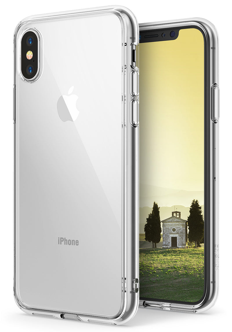 apple iphone x ringke fusion case case clear