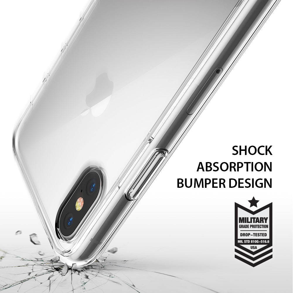 ringke fusion for iphone x case cover main shockproof protection