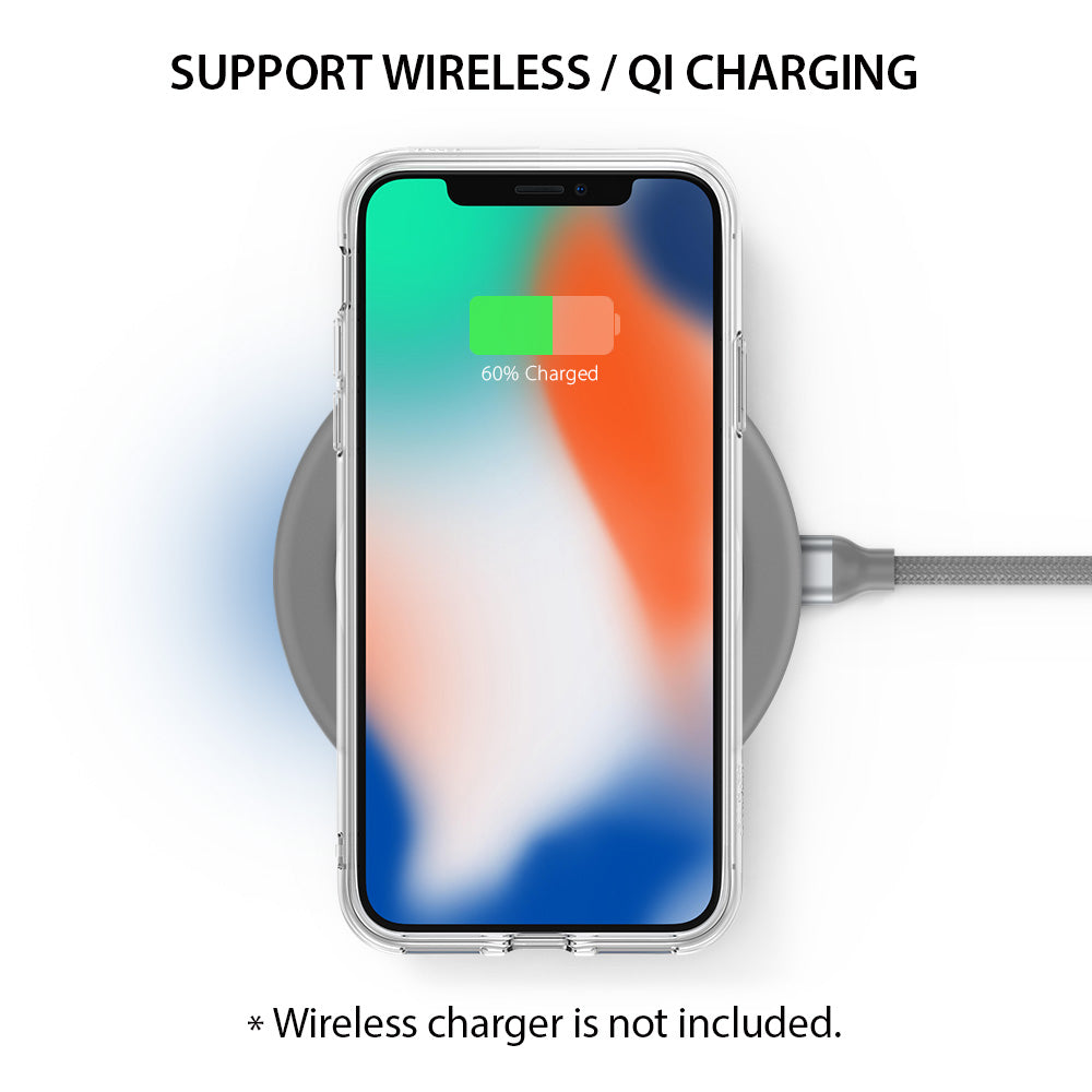 ringke fusion for iphone x case cover main wireless charging compatible