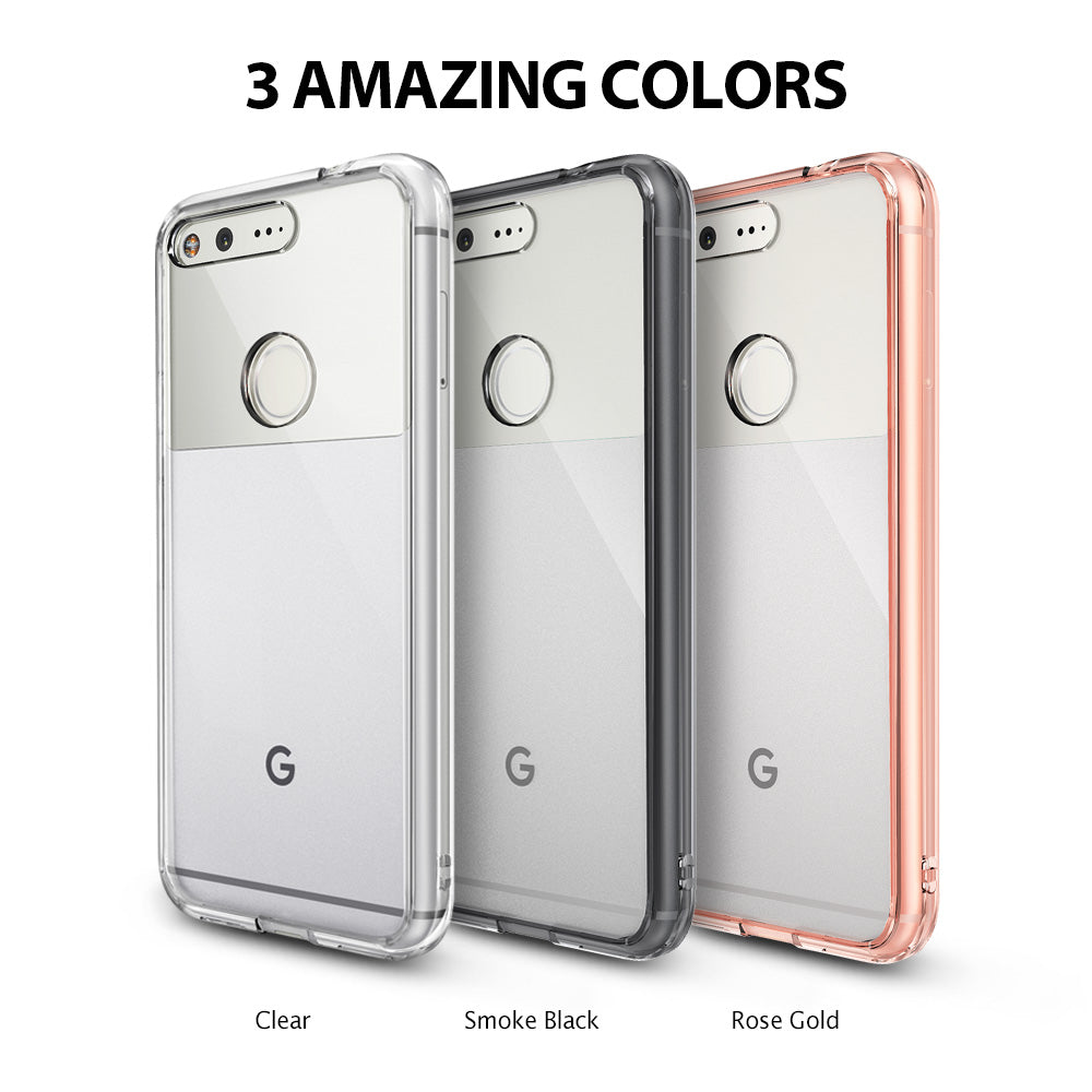 ringke fusion clear transparent hard back case cover for google pixel xl main colors