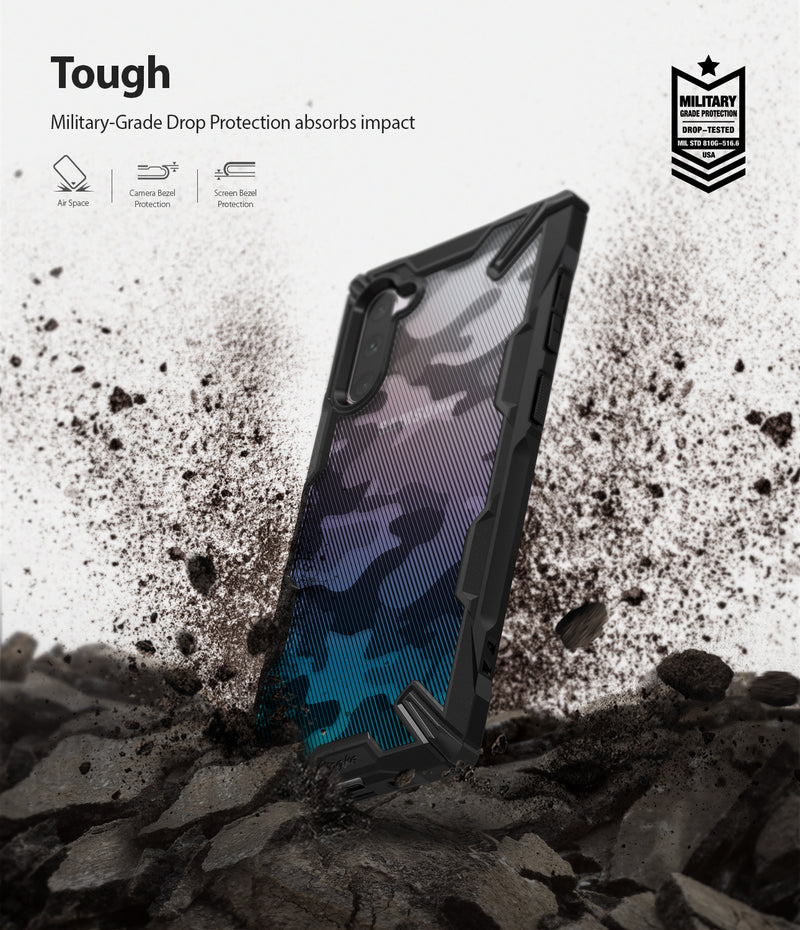 Ringke Fusion-X DDP Camo Black Case for Galaxy Note 10 5G (2019)
