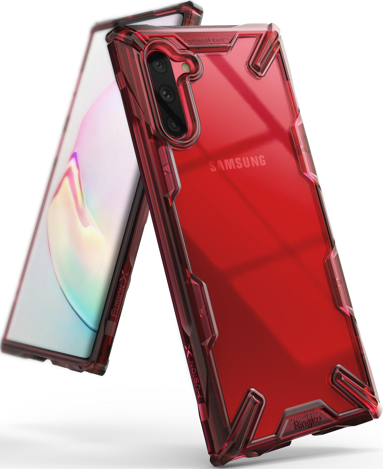 Ringke Fusion-X case for Galaxy Note 10 5G (2019) Ruby Red