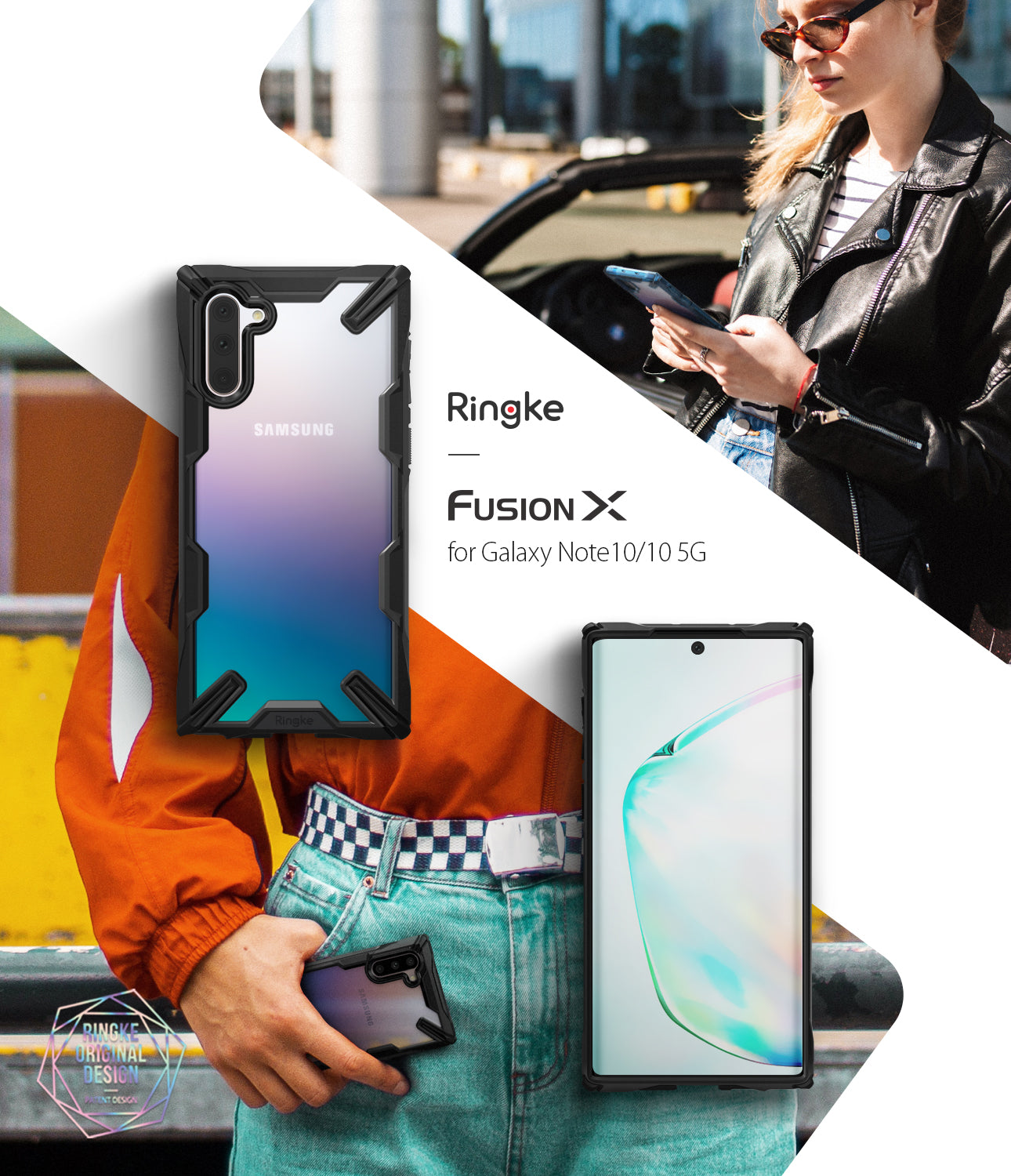 Ringke Fusion-X case for Galaxy Note 10 5G (2019)