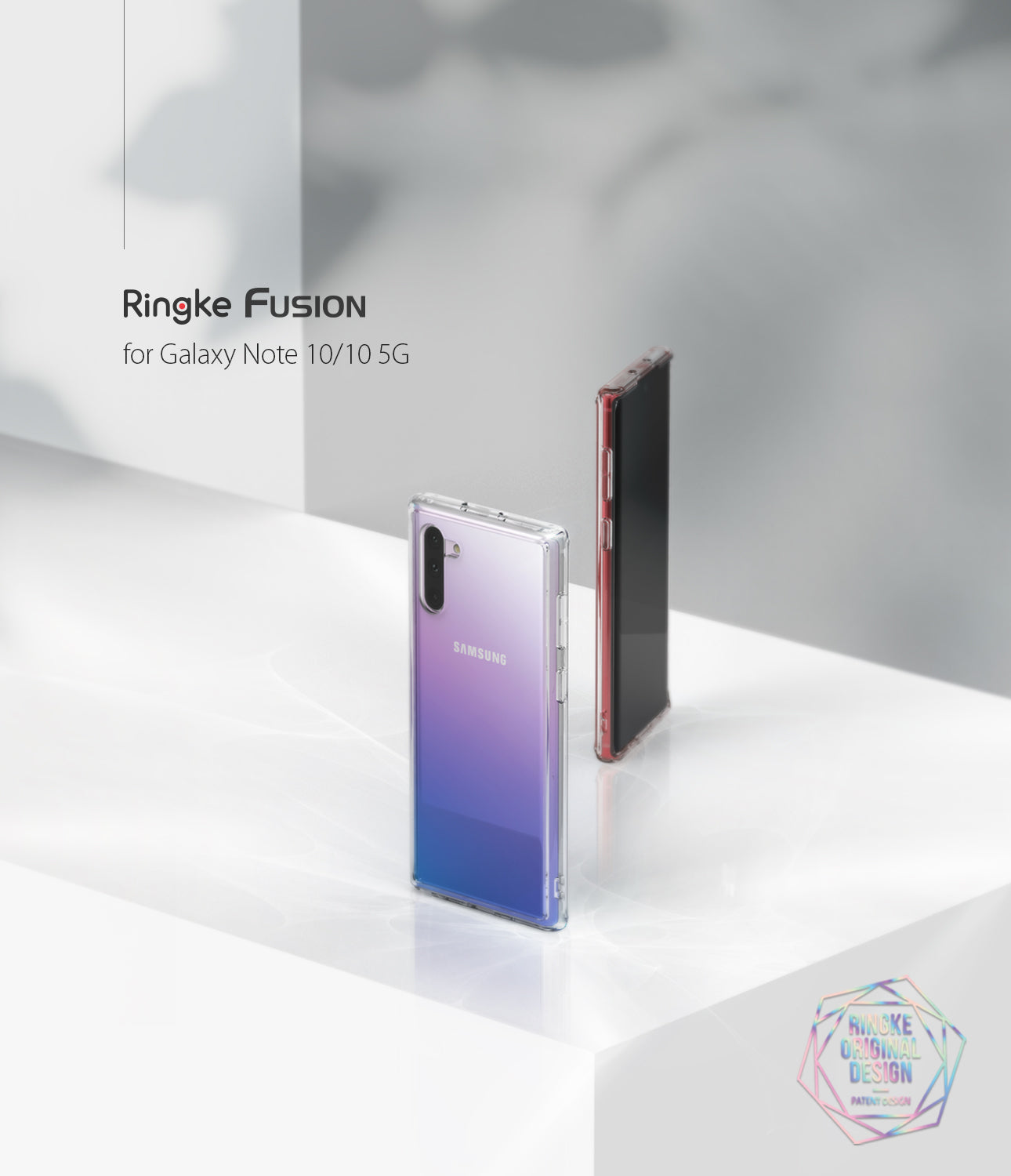 Ringke Fusion Clear Case for Galaxy Note 10 5G (2019)